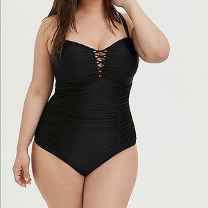 Torrid swimsuit-Size 0, fitted swimsuit